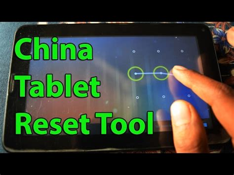reset pattern lock android tablet how to hard reset china tablet by software unlock
