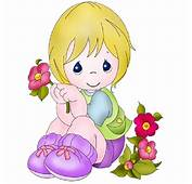 Free Baby Girl Clip Art Borders Clipart Image 4249