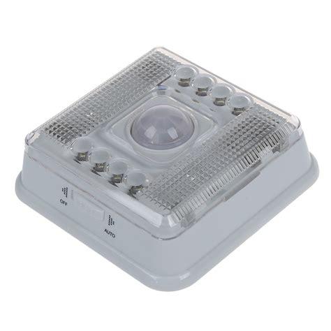 blue pir infrared 8 led auto motion sensor detector indoor