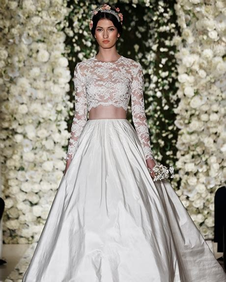2015 Wedding Trend: Two Piece Bridal Dresses   Kavita Mohan