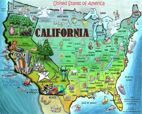 usa map new york california map of california usa california map