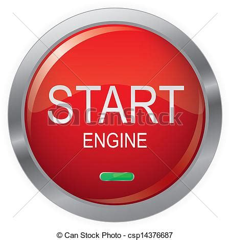 wallpaper engine on startup vector of engine start glossy button eps10 vector