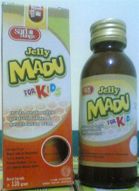 Royal Honey Madu Untuk Sistem Imun Nafsu Makan Anak jelly madu for darul ilmi agency makassar