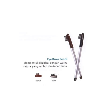 wardah eyebrow pencil black