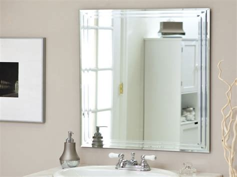 How To Frame An Existing Bathroom Mirror Framed Bathroom Mirrors Bathroom Mirror Idea Framing An Existing Bathroom Mirror Bathroom
