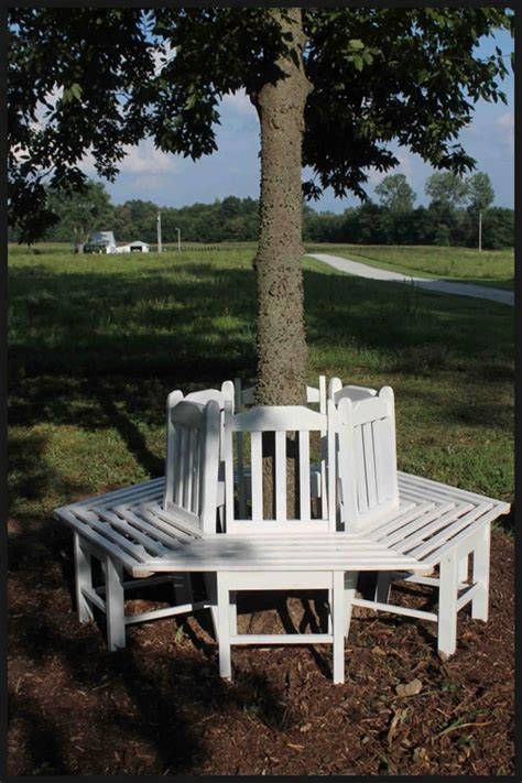 how to make a bench around a tree creative ideas how to build a bench around a tree using
