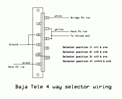 baja telecaster schematic telecaster guitar forum