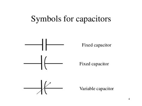symbol for fixed capacitor topic 2a ac circuits analysis