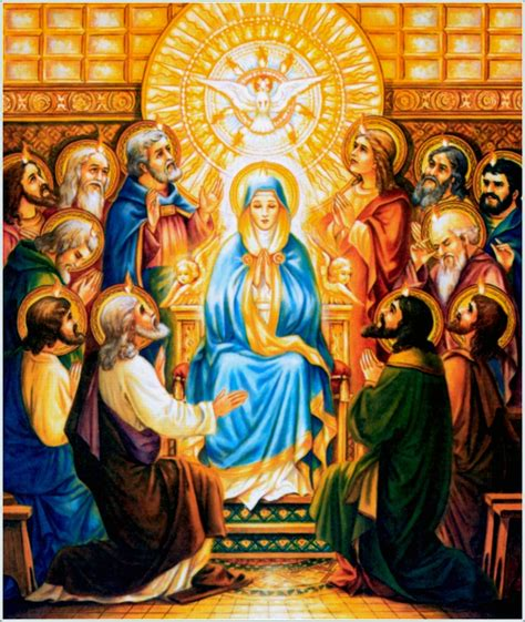 The Apostle Of Holy Motherhood novena to the holy spirit for pentecost our blessed pentecost holy