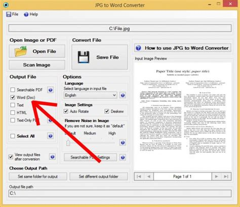 converter jpg to word how to convert scanned images into editable word files