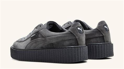 Fenty Rihanna Grey Size 40 Uk Wanita fenty creepers grey ambientecasaonline it