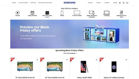 samsung black friday 2018 preview here is what will be on offer