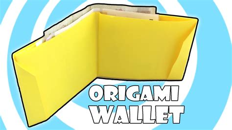 How To Make A Wallet Out Of Paper - diy printing paper origami wallet
