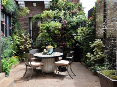 desain meja taman dekorasi taman kecil terbaik desain minimalis