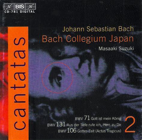 Bach Cantatas Suzuki Masaaki Suzuki Bach Cantatas Vol 2