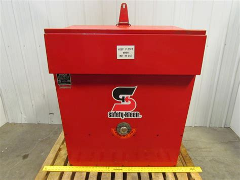 heated parts washer system one safety kleen 115v 20gal heated recycling parts