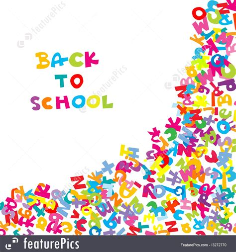 School Background Buscar Con School by Education Back To School Background With Letters Stock