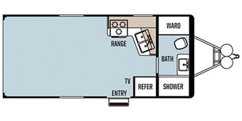 work and play floor plans 2013 forest river work and play ultra lite 19ufb trailer