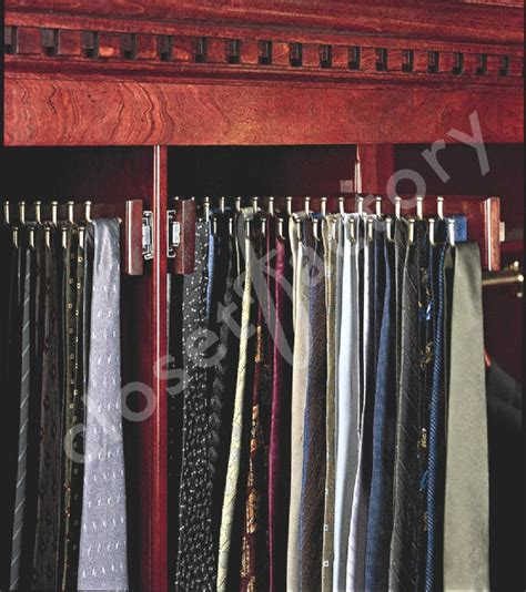 California Closet Tie Rack by Custom Designed S Tie Cabinet Traditional Closet Los Angeles By Wade Closet Factory