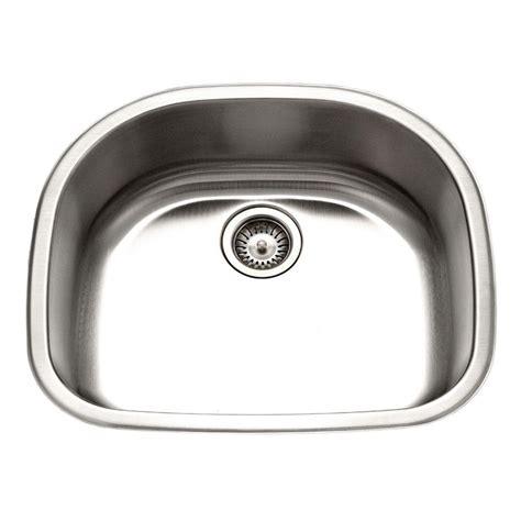Houzer Kitchen Sink Houzer Belleo Series Drop In Stainless Steel 23 1875 In Single Bowl Kitchen Sink Bss 2309 The