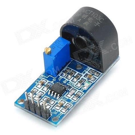 Ac Phase Module yqj010504 single phase ac current sensor module w active output blue 5a free