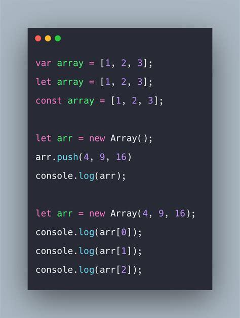 javascript array  arrays  javascript