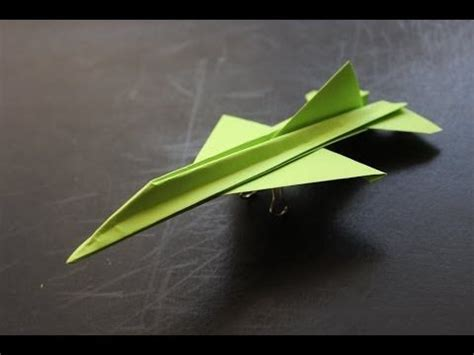 How To Make A Fighter Jet Paper Airplane - 折り紙 紙飛行機 戦闘機 f15 折り方 作り方 how to make an f15 eagle jet