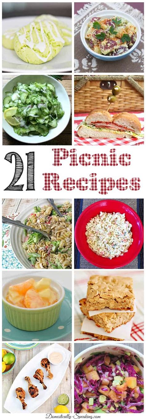 21 picnic dishes bbq appetizers salads and more