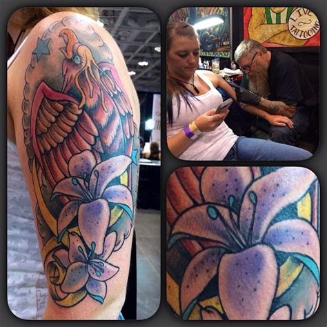 virginia beach tattoo custom design half sleeve by clutch richmond va 2014