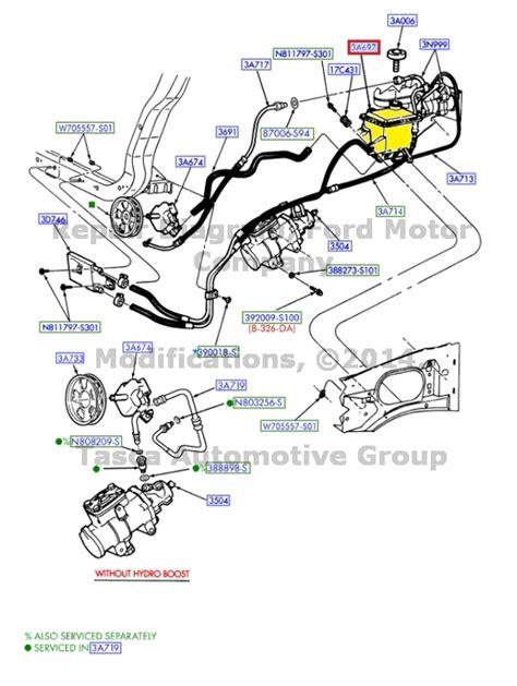 Power Steering Hose M Kuda Diesel new oem power steering reservoir ford f250 f350 f450 f550