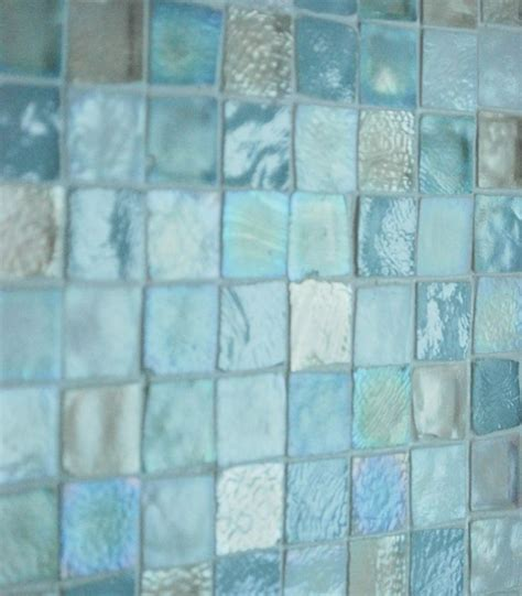 glass tile bathrooms 40 blue glass mosaic bathroom tiles tile ideas and pictures