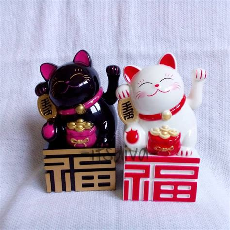 Squishy Lucky Cat Maneki Neko Kucing Keberuntungan Hoki jual maneki neko kucing hoki lucky cat box itsdiva corner