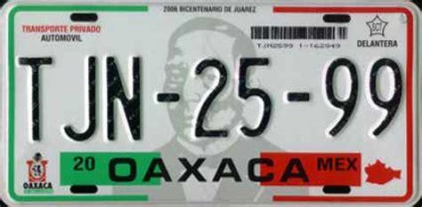 placas de oaxaca placas de mexico pilon taringa