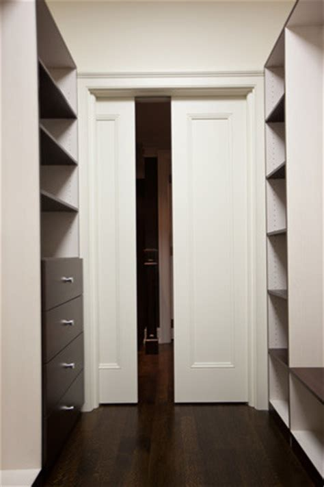 Pocket Doors For Closets by Pocket Doors Traditional Closet Toronto By K N