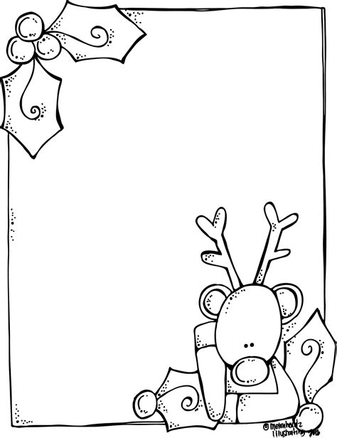 Melonheadz A Blank Rudolph Letter Form For Santa And It S Free Letter Template Black And White