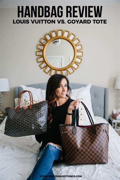 Chic Computer Chip Hair The Bag 2 by Louis Vuitton Vs Goyard Handbag Review Alyson