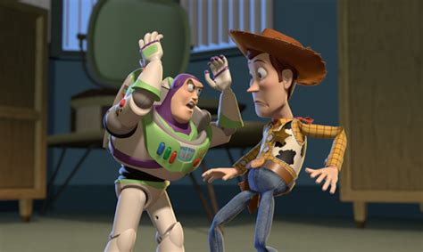 Woody In Bar Fight by Story 2 3d Forum Cinemas