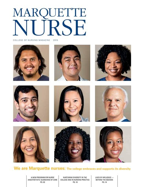 nurses moving beyond the bedside there are no limits books marquette 2015 by marquette issuu