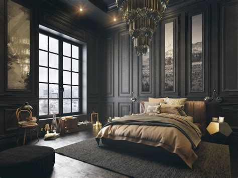 6 Dark Bedrooms Designs To Inspire Sweet Dreams Design Bedroom