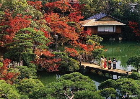 giardino paesaggistico il giardino paesaggistico sorakuen