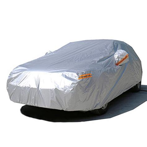 Sarung Mobil Outdoor Honda Brio 3layer kayme waterproof all weather car covers sunproof light strong poloyester for automobiles suv