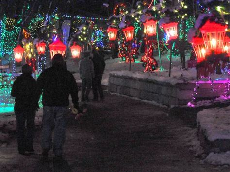 christmas lights at rocky ridge park york pa new attractions for magic
