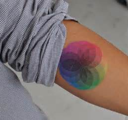 color tattoos a colorful and beautiful color wheel mandala that