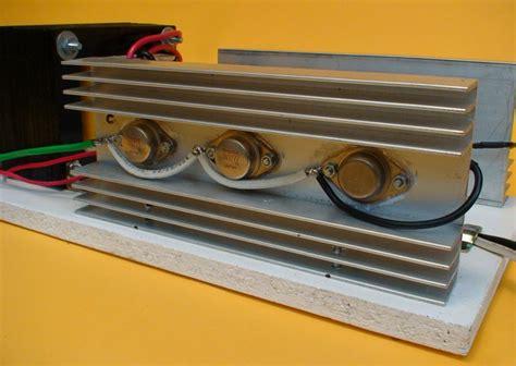 transistor 2n3055 en paralelo construya un inversor dc ac de 300w
