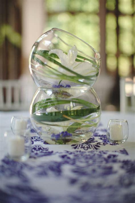 Vase Decoration With Beads Unique Wedding Reception Centerpiece Onewed Com