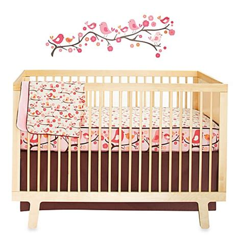 skip hop bedding skip hop 174 springtime birdie crib bedding collection