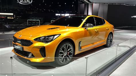 vwvortexcom  kia stinger officially unveiled production gt concept range topping gt