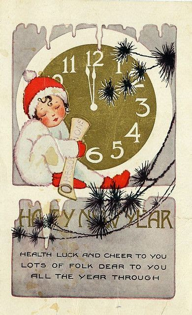 what years are considered mid century new year s happy new year and postcards on