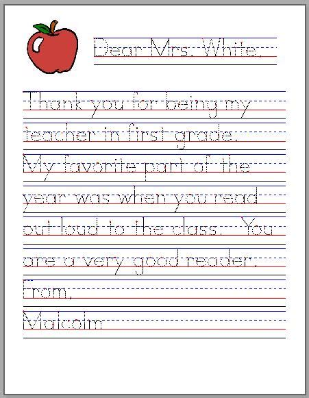 Vbs Closing Letter To Parents Thank You Note From Parent