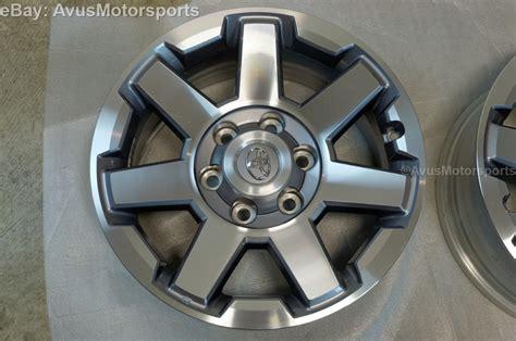 2014 Toyota 4runner Wheels New 2014 Toyota 4runner Oem Factory 17 Quot Trd Trail Wheels